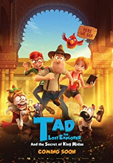Tad, the lost explorer and the secret of King Midas (2017)